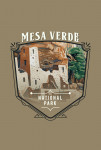 Mesa Verde National Park, Colorado - Painterly National Park Series - Contour