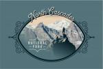 North Cascades National Park, Washington - Painterly National Park Series - Contour