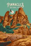 Pinnacles National Park, California - Painterly National Park Series