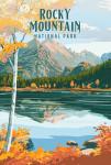 Rocky Mountain National Park, Colorado - Painterly National Park Series