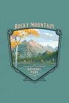 Rocky Mountain National Park, Colorado - Painterly National Park Series - Contour