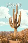 Saguaro National Park, Arizona - Painterly National Park Series