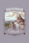 Shenandoah National Park, Virginia - Painterly National Park Series - Contour