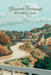 Theodore Roosevelt National Park, North Dakota - Painterly National Park Series
