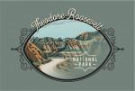 Theodore Roosevelt National Park, North Dakota - Painterly National Park Series - Contour