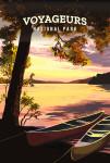 Voyageurs National Park, Minnesota - Painterly National Park Series