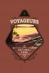 Voyageurs National Park, Minnesota - Painterly National Park Series - Contour