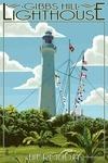 Bermuda - Gibbs Hill Lighthouse - Lantern Press Artwork
