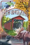 New England - Montage Scenes - Lantern Press Poster
