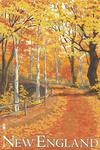 New England Fall Colors - Lantern Press Artwork