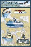 Inside Passage, Alaska - Nautical Chart - Lantern Press Poster