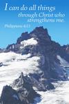 Philippians 4:13  - Inspirational - Lantern Press Photography