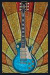 Guitar - Mosaic - Lantern Press Artwork