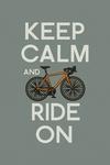 Keep Calm and Ride On - Lantern Press Artwork