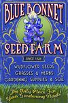 Seed Farm - Vintage Sign - Lantern Press Poster