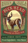 White Tailed Deer Ale - Vintage Sign - Lantern Press Poster