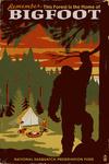 Home of Bigfoot - WPA Style - Lantern Press Artwork