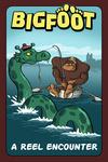 Bigfoot Catches Loch Ness Monster - Lantern Press Artwork