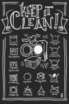 Laundry Symbols (Black) - Lantern Press Artwork