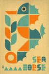 Seahorse - Lantern Press Artwork