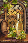 Walla Walla, Washington - Chardonnay - Lantern Press Artwork