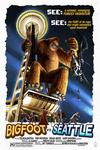 Seattle, Washington - Bigfoot vs Seattle - Lantern Press Artwork