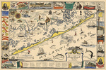 Long Beach Island, New Jersey - Vintage Map
