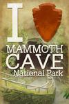 I Heart Mammoth Cave National Park, Kentucky - Lantern Press Artwork