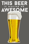 Pilsner Glass - Beer Quote - Lantern Press Artwork