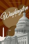 Washington DC - Capitol Building - Lantern Press Artwork