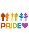 Gay Pride - Couples - Lantern Press Artwork