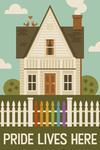 Gay Pride - Pride Lives Here - Lantern Press Artwork
