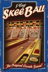 Skee Ball - Arcade Redux - Lantern Press Artwork