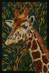 Giraffe - Mosaic - Lantern Press Artwork