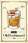 Prohibition - Cocktail Recipe - Old Fashioned - Lantern Press Artwork
