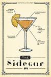 Prohibition - Cocktail Recipe - Sidecar - Lantern Press Artwork
