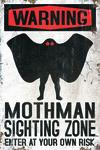 Mothman - Cryptid - Lantern Press Artwork