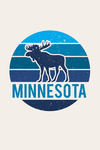 Minnesota - Moose - Contour