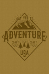 Say Yes to Adventure - Mountains - Contour