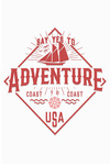 Say Yes to Adventure - Nautical - Contour