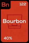 Periodic Drinks - Bourbon - Lantern Press Artwork