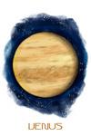 Venus - Watercolor - Lantern Press Artwork