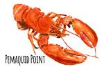Pemaquid Point - Lobster - Watercolor - Lantern Press Artwork