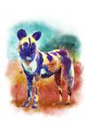 Dog - Watercolor - Lantern Press Artwork