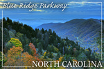 Blue Ridge Parkway - North Carolina - Great Smoky Mountains - Lantern Press Photography