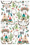 Icons - Tribal Inspired Theme - Lantern Press Artwork