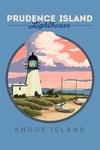Prudence Island, Rhode Island - Lighthouse - Contour - Lantern Press Artwork