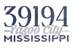 Yazoo City, Mississippi - Local Zip Code - Lantern Press Artwork