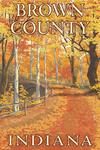 Brown County, Indiana - Fall Colors Scene - Lantern Press Artwork