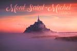 Mont Saint-Michel, France - Castle - Lantern Press Photography